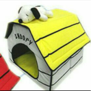 ペットハウス☆スヌーピー(黄色の屋根)
