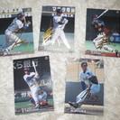 2001カルビー ベースボールカード5枚金サイン(オリックス ブル...