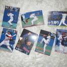 2001カルビー ベースボールカード6枚金サインと2004ベバリン...