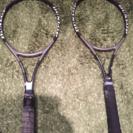 【中古】硬式テニスラケット2本