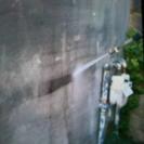 外壁、外堀、ガレージ、玄関土間、高圧洗浄