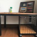 ブルックリンスタイルのテーブル(と収納家具)