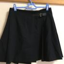 巻きスカート ユニクロ ネイビー