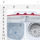 新品未開封 コンパクト2.8kg洗濯機 値引き済