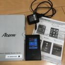 LTE モバイルルーター Aterm MR04LN★保護シール付