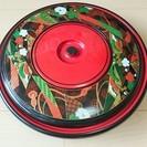 329 和食器 回転オードブル 小皿付き 底に名前記入あり