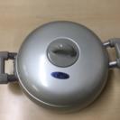 アルミ両手鍋 24㎝ 未使用