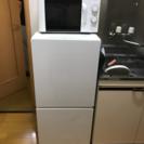 激安!uing2015年製2ドア冷蔵庫