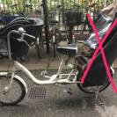 値下げ!!ママフレミニ 中古 子供乗せ自転車