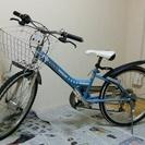 22インチ子供用自転車・水色