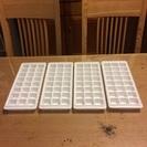製氷皿 4個セット 無料 中古