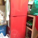 【7月8日〜14日までのお引き取り希望】Haier 奇抜な赤い冷蔵庫