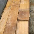 ベニヤ板 板材 床材 釘付き 廃材 DIY材料
