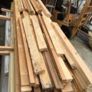 角材 床材 釘付き 廃材 DIY材料 長さ色々
