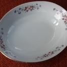 未使用品 ナルミチャイナのカレー皿、盛付皿、大皿、素敵なお皿でござ...