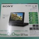 SONY DVDプレーヤー新品未使用です。