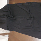 フォーマル黒のロングスカート