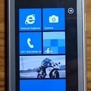 docomo T-01A Windows Phone シルバー