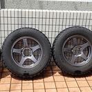 ジムニー用タイヤホイル4本セットUSEDです。