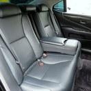 レクサス LS460 バージョンC サンルーフ黒革エアシートPサウンド (ブラック) - 中古車