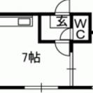 札幌市中央区1LDK25000管理費込み