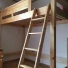 【取引中】ロフトベッド システムベッド 木製
