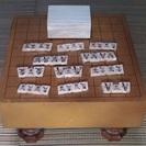 将棋盤(足つき)  駒 セット ~ 木製