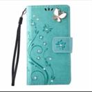 XperiaZ3 手帳型携帯カバー 可愛いグリーン💖