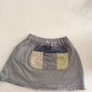 女の子スカート95センチ