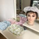 乳がん、婦人科系がん患者の茶話会(お話とケア帽子作り)