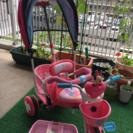 ミニーちゃん カバー付き三輪車