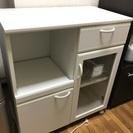 【ルシフォン】食器棚・マルチストッカー LCF-8575SL