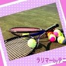 テニスしましょー