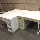 ★値下げ中【売ります|7/28〆切】 IKEA デスク(状態良/オ...