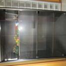 【事務用・什器】高級木製-ガラスボード■¥25,000-■