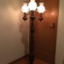 アンティーク風 スタンド照明