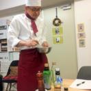 男性限定、出張料理教室です!