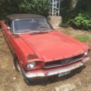 フォード マスタング 289 1968yモデル (オレンジ)