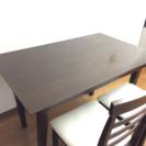 ダイニングテーブル 椅子4脚 セット