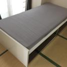 IKEA Sultan シングルベッド とマトラッセ セット