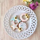 【ママのリフレッシュ企画】ベビーマッサージ&アイシングクッキー作り