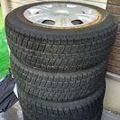 【取りに来れる方限定】タイヤ付き鉄ホイール195/65R15