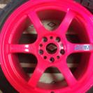 レイズ グラムライツ & 新品タイヤ2本セット