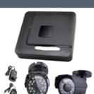 監視カメラ2台設置と録画設定