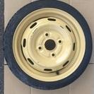 応急タイヤ*スペアタイヤ・14インチ・4穴・T115/70D14