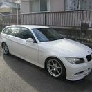 BMW E91ツーリング ハイラインパッケージ+オプション多数 車...