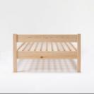 【取引中】無印良品パイン材ベッド・シングル
