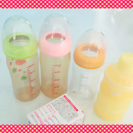 母乳実感 ピジョン哺乳瓶3本セット おまけ付き