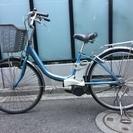 panasonic 電動自転車 26型 3速 (充電器付き)、直接...