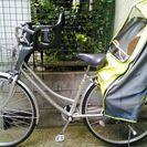 自転車、子供乗せ